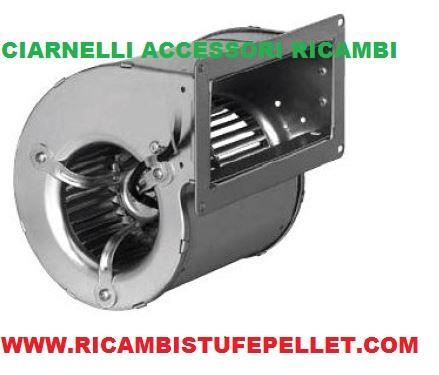 Ve 04 ventilatore centrifugo per stufe a pellet for Ricambi stufe a pellet palazzetti