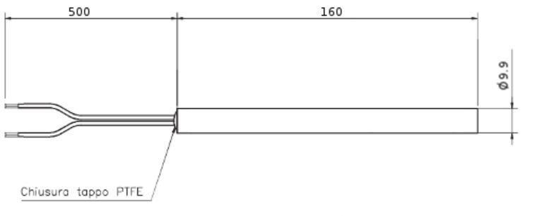 Rs 02 resistenza di accensione compatibile a stufe nordica for Tarature tecnico extraflame