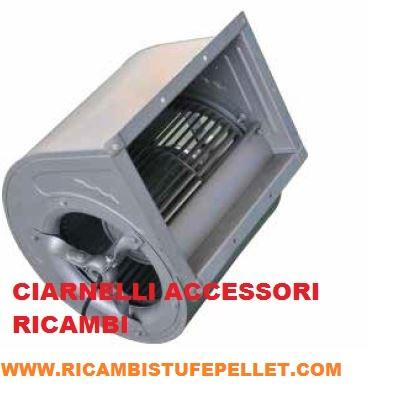 Ve 03 ventilatore centrifugo per stufe a pellet for Ricambi stufe a pellet palazzetti