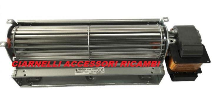 Ventilatore tangenziale per stufe a pellet 90122 for Ventilatore con nebulizzatore per interni